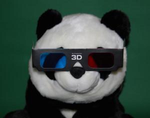 Pandas kommen jetzt in 3D
